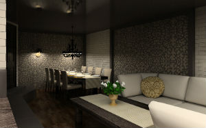 Interior design of restaurants